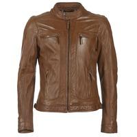 衣服 男士 皮夹克/ 人造皮革夹克 Oakwood 60901 棕色