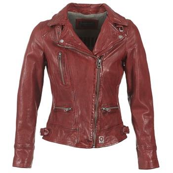 衣服 女士 皮夹克/ 人造皮革夹克 Oakwood VIDEO 红色