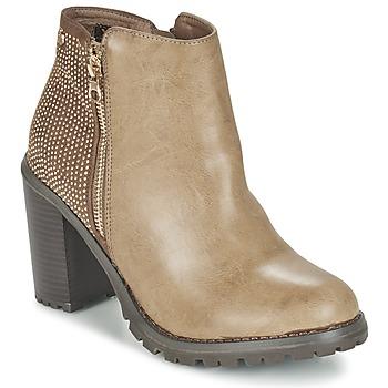 鞋子 女士 短靴 Xti 波尔蒂伊 LOUNI 灰褐色