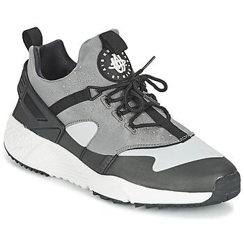 鞋子 男士 球鞋基本款 Nike 耐克 AIR HUARACHE UTILITY 灰色