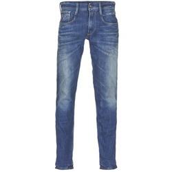 衣服 男士 紧身牛仔裤 Replay ANBASS 蓝色 / Edium