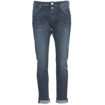衣服 女士 直筒牛仔裤 Replay PILAR 蓝色