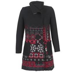 衣服 女士 大衣 Desigual JEFINITE 黑色 / 红色