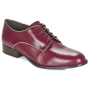 鞋子 女士 德比 Betty London FLOJE 波尔多红
