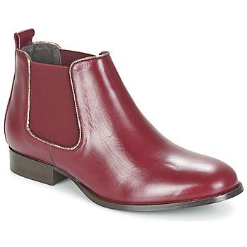 鞋子 女士 短筒靴 Betty London FOLOIE 波尔多红