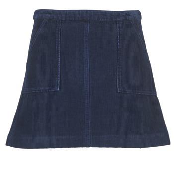 衣服 女士 半身裙 Kookai BIRKIN VELOURS 海蓝色