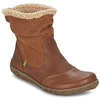 鞋子 女士 短筒靴 El Naturalista NIDO 棕色