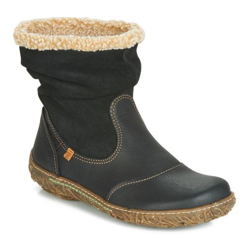鞋子 女士 短筒靴 El Naturalista NIDO 黑色