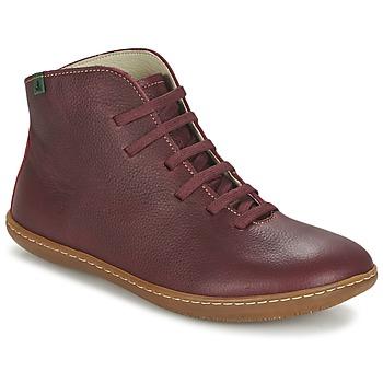 鞋子 女士 短筒靴 El Naturalista EL VIAJERO 波爾多紅