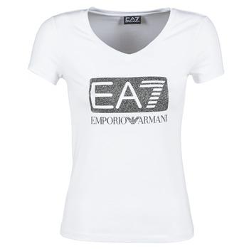 衣服 女士 短袖体恤 EA7 EMPORIO ARMANI FOUNAROLA 白色