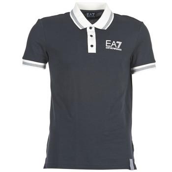 衣服 男士 短袖保罗衫 EA7 EMPORIO ARMANI OKOLAMI 海蓝色