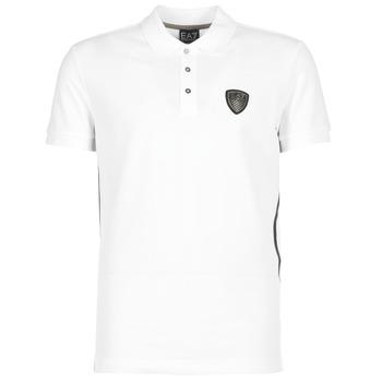 衣服 男士 短袖保罗衫 EA7 EMPORIO ARMANI ONTRAFOL 白色