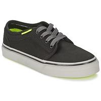 鞋子 儿童 球鞋基本款 Vans 范斯 106 VULCANIZED 黑色 / 灰色 / 黄色