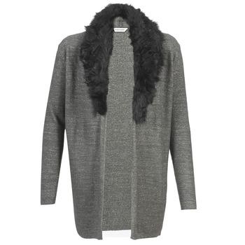 衣服 女士 羊毛开衫 Naf Naf 娜芙娜芙 NESTOR -煤灰色