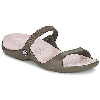 鞋子 女士 凉鞋 crocs 卡骆驰 Cleo 巧克力色 / 棕色 / 粉色