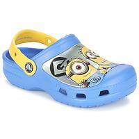 鞋子 儿童 洞洞鞋/圆头拖鞋 crocs 卡骆驰 CC Minions Clog 蓝色 / 黄色