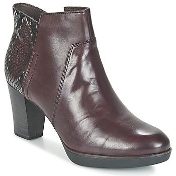 鞋子 女士 短靴 Tamaris VICHA 波尔多红