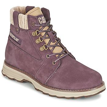 鞋子 女士 短筒靴 Caterpillar CHARLI 紫罗兰