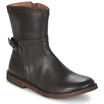 鞋子 女士 短筒靴 Kickers CRICKET 棕色 / Fonce
