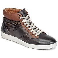 鞋子 女士 高帮鞋 Kickers HAPPYZIP 棕色 / Fonce / 金属银