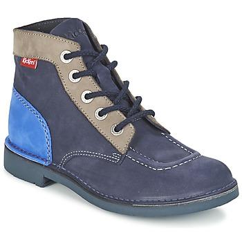 鞋子 女士 短筒靴 Kickers KICK COL 海蓝色