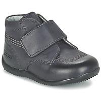 鞋子 儿童 短筒靴 Kickers BILOU 黑色