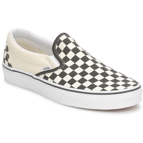鞋子 平底鞋 Vans 范斯 CLASSIC SLIP ON 黑色 / 白色