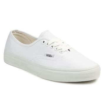 鞋子 球鞋基本款 Vans 范斯 AUTHENTIC 白色