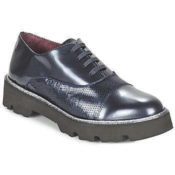 鞋子 女士 系带短筒靴 Fericelli FANCHON 海蓝色