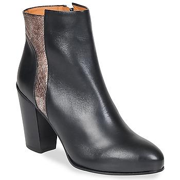 鞋子 女士 短靴 Emma Go BOWIE 黑色 / 金属银