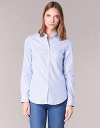 衣服 女士 衬衣/长袖衬衫 Casual Attitude FANFAN 白色 / 蓝色