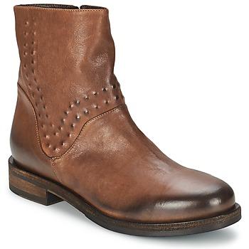 鞋子 女士 短筒靴 Vic 维克 COPENHAGEN 棕色