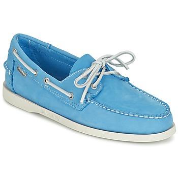 鞋子 男士 皮便鞋 Sebago 仕品高 DOCKSIDES 蓝色