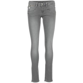 衣服 女士 紧身牛仔裤 Freeman T.Porter ALEXA MAGIC COLOR 灰色