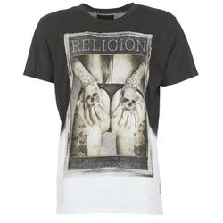 衣服 男士 短袖体恤 Religion GRABBING 白色 / 黑色