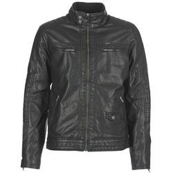 衣服 男士 皮夹克/ 人造皮革夹克 Petrol Industry VESTE JAC150 黑色