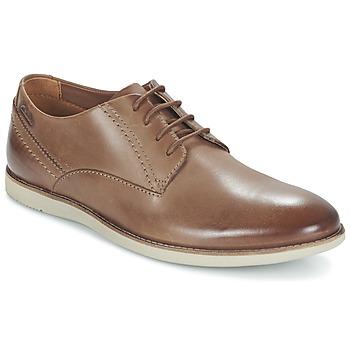 鞋子 男士 德比 Clarks 其乐 FRANSON PLAIN 棕色