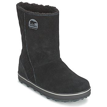 鞋子 女士 雪地靴 Sorel GLACY 黑色