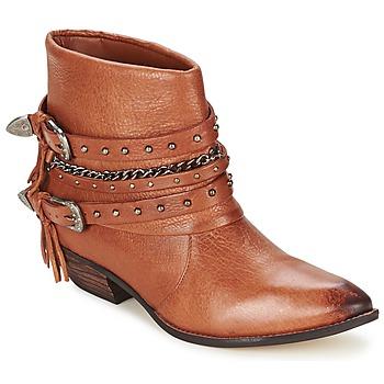 鞋子 女士 短筒靴 Dumond ZIELLE 棕色