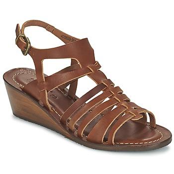 鞋子 女士 凉鞋 Kickers FASTA 棕色