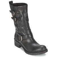 鞋子 女士 短筒靴 JFK GUANTP 黑色