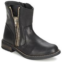 鞋子 女孩 短筒靴 Little Mary ROCKNROL 黑色