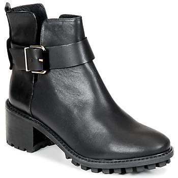 鞋子 女士 短筒靴 Miista GRETA 黑色