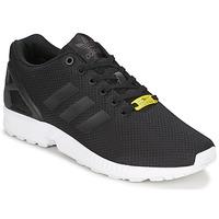 鞋子 球鞋基本款 Adidas Originals 阿迪达斯三叶草 ZX FLUX 黑色 / 白色