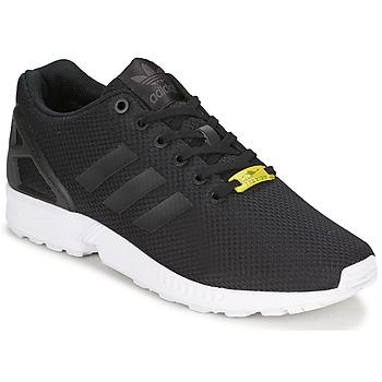 鞋子 球鞋基本款 阿迪达斯三叶草 ZX FLUX 黑色 / 白色