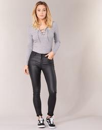 衣服 女士 多口袋裤子 Vila VICOMMIT 黑色