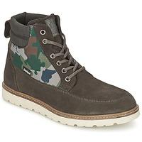 鞋子 男士 短筒靴 Desigual CARLOS -煤灰色