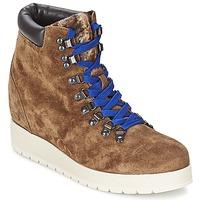 鞋子 女士 短靴 Alberto Gozzi VELOUR MARRONE 棕色