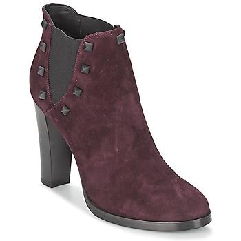 鞋子 女士 短靴 Alberto Gozzi CAMOSCIO NEIVE 波尔多红