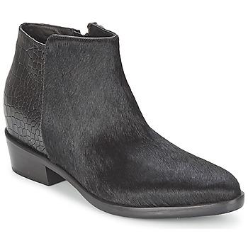 鞋子 女士 短筒靴 Alberto Gozzi PONY NERO 黑色